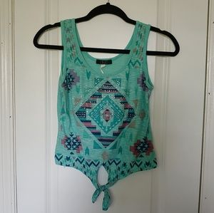 Aztec Bling Tank Top